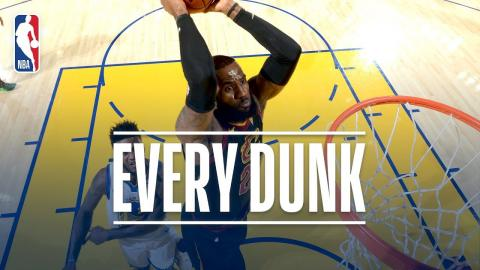 Karl-Anthony Towns, Enes Kanter, Jordan Bell and Every Dunk From Christmas Day | Dec. 25, 2017