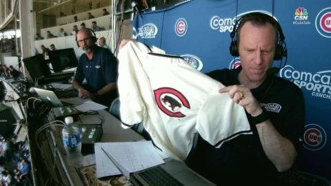 CIN@CHC: Cubs, Reds showcase throwback jerseys
