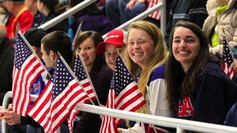 Reagan Carey Discusses the U.S. Hosting the 2017 IIHF  Women's World Championship