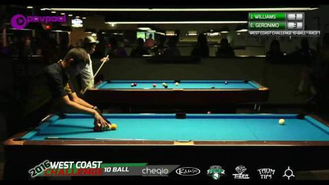#4 • Jason WILLIAMS vs Edgie GERONIMO / 2016 WCC 10-BALL