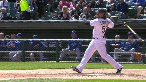 TEX@CWS: Melky's solo homer puts White Sox on board