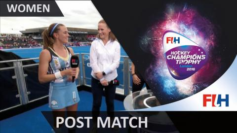 Carla Rebecchi talks us through her side's narrow win over the Hockeyroos #HCT2016