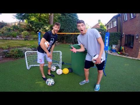 ULTIMATE Backyard Football Challenges vs. MY BRO!!