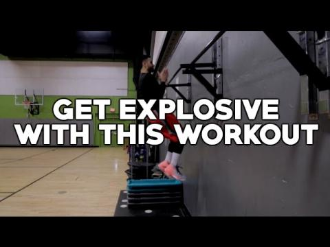 How To: Explosive Upper Body Workout To Increase Your Vertical Jump!