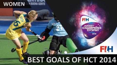 Women's Hockey Champions Trophy Countdown – Best goals of 2014!