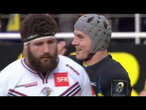 Clermont vs Bordeaux Begles rugby 24.01.2016 - European Champions Cup