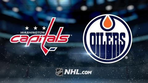 Kuznetsov scores twice in 3rd as Caps beat Oilers