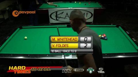 #8 - Mark WHITEHEAD vs Vilmos FOLDES • 2016 Hard Times 10-Ball