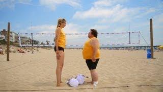 Craziest Beach Volleyball Game Ever (w/ Kerri Walsh Jennings)