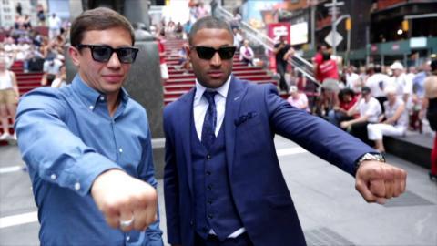 The Buzz: Golovkin vs. Brook Press Conference (HBO Boxing)