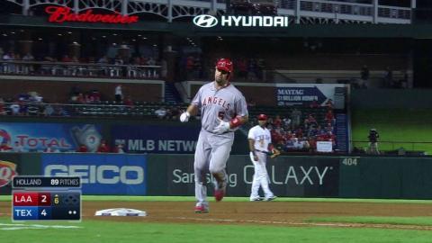 LAA@TEX: Pujols belts his 39th homer of the season