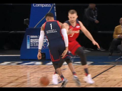 D'Angelo Russell Shows Off His Handles at Rising Stars Challenge! | 02.17.17