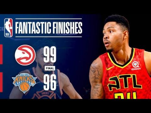 Best Plays From Crunchtime In The Garden: Hawks vs Knicks