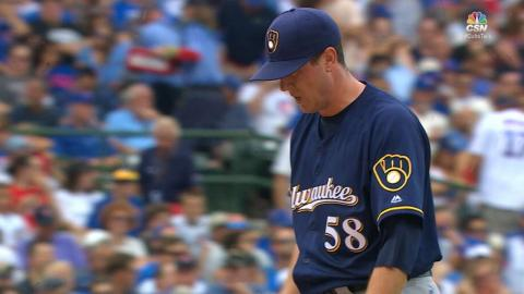 MIL@CHC: Scahill tosses a scoreless 5th inning