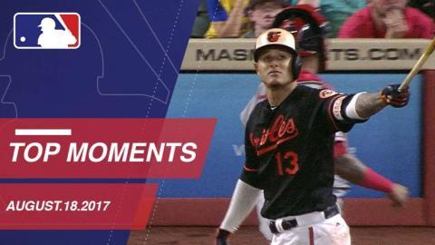 Machado's walk-off grand slam, nine moments around MLB: 8/18/17