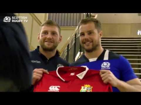 Finn Russell and Allan Dell on joining the British and Irish Lions squad
