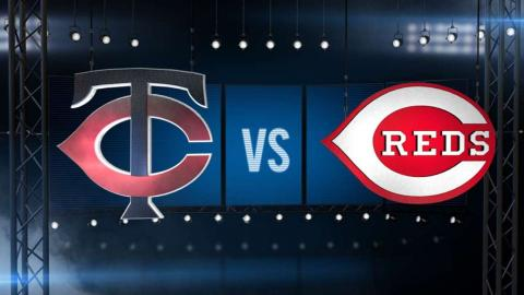 6/30/15: Balanced attack helps Twins top Reds, 8-5