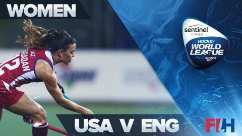 USA v England Highlights - Sentinel Homes Hockey World League Final - Auckland, New Zealand