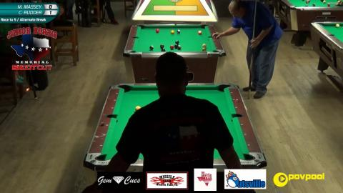 #5 - Mike. MASSEY vs Chase RUDDER - Norris 8-Ball • 2017