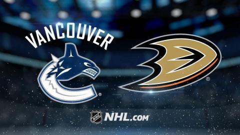 Silfverberg, Rakell lead Ducks to 4-1 win vs. Canucks