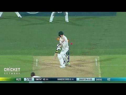 Overton reflects on Smith scalp, England's verbals
