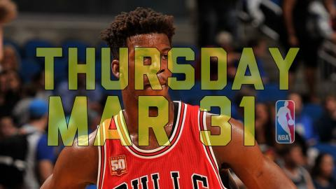NBA Daily Show: Mar. 31 - The Starters