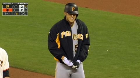 Taillon struggles with a stuck jacket zipper
