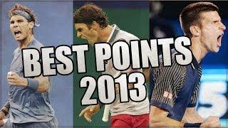 Tennis : BEST POINTS OF 2013 PART 1