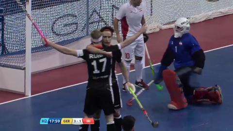 Germany v Iran - Match Highlights Indoor Hockey World Cup - Men's Semi Final