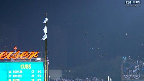 NLCS Gm2: Rizzo hammers a ball deep but foul