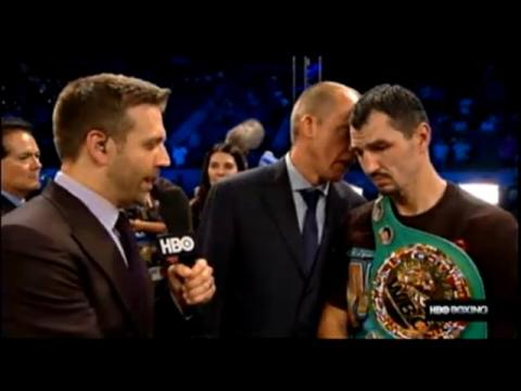 Post Fight Viktor Postol Knocks Out Lucas Matthysse !! Manny Pacquiao Fight Up In Smoke !!
