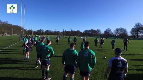 Irish Rugby TV: Keith Earls Shows 'Eggscellent' Skill