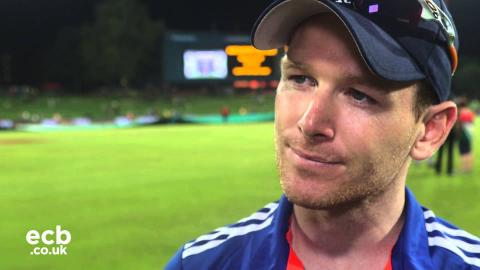 Eoin Morgan after seven-wicket defeat to South Africa