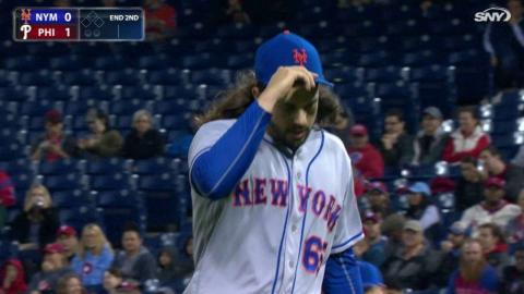 NYM@PHI: Gsellman fans Asher to escape trouble