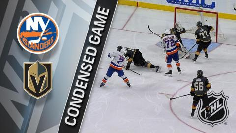 01/25/18 Condensed Game: Islanders @ Golden Knights