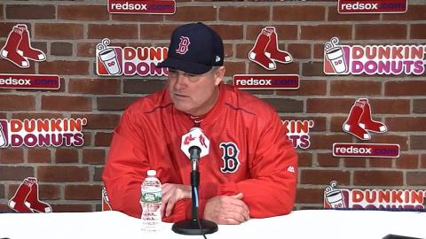 TEX@BOS: Farrell talks strong performance in 6-2 win