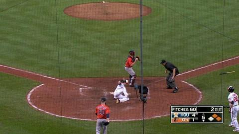 HOU@BAL: Jones plates Reimold with RBI single
