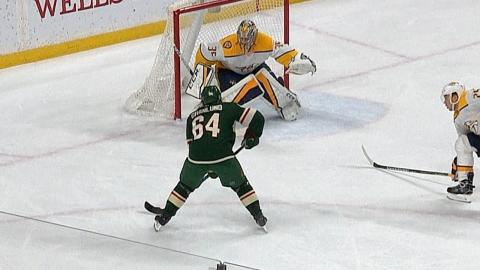 Mikael Granlund records his second career hat trick