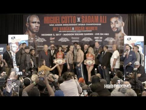 Cotto vs. Ali Weigh-In Recap (HBO Boxing News)
