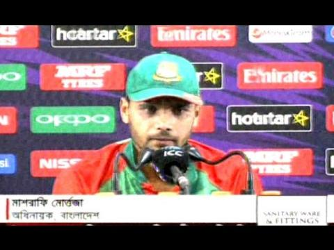 Mashrafe Mortaza Talking Bangla After Bangladesh VS Australia T20 World cup Cricket Match