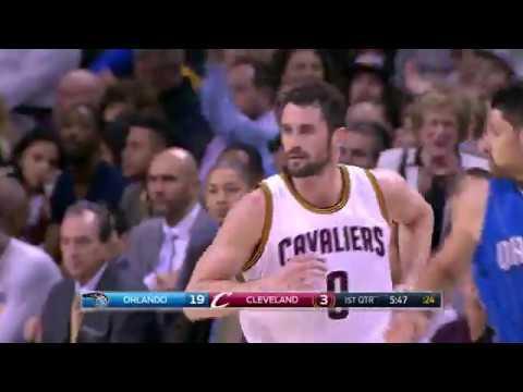 LeBron James Triple Double Kevin Love Adds 28!   April 4, 2017