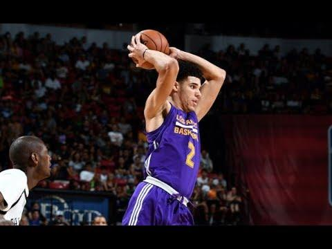 Full Highlights: Best of Lonzo Ball vs the Brooklyn Nets, MGM Resorts NBA Summer League | July 15