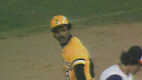 1979 WS Gm6: Moreno's single knocks in Garner
