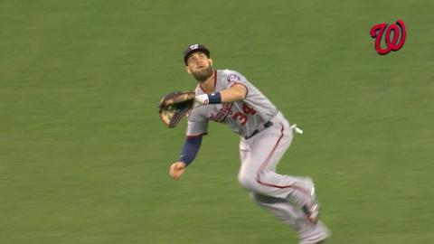 WSH@SF: Harper makes two great grabs in right field