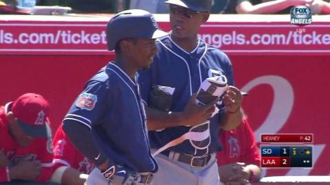 SD@LAA: Weeks drives one to right for an RBI single