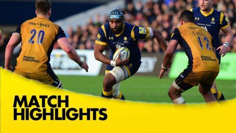 Worcester Warriors v Bristol Rugby - Aviva Premiership Rugby 2016-17