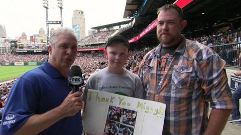TB@DET: Family celebrates Father's Day together