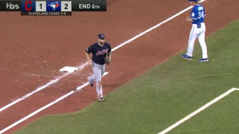 ALCS Gm4: Otero strands a pair in the 6th inning