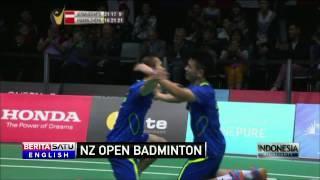 Indonesian Men's Doubles Team Loses In New Zealand Badminton Open Final