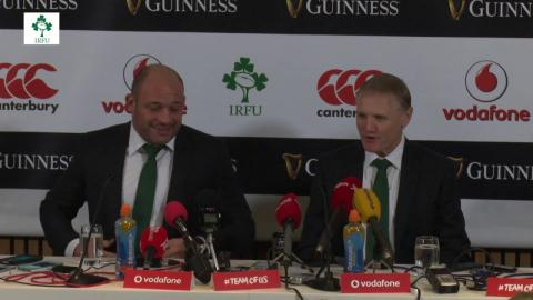 Irish Rugby TV: Ireland v Australia Post-Match Press Conference